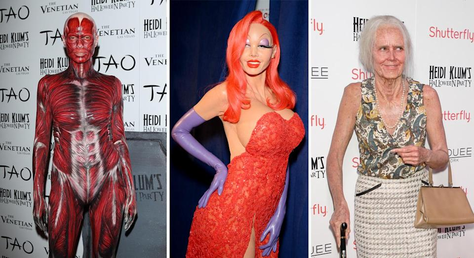 Heidi Klum's Halloween looks aren't as impossible to recreate as you might think [Photo: Getty]