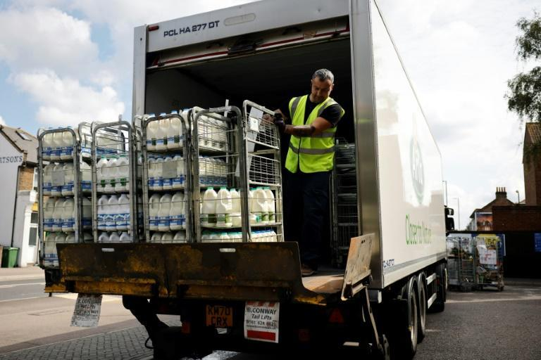 Britain is facing a 'critical shortage' of lorry drivers
