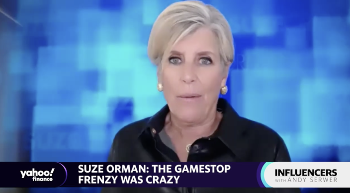 Suze Orman, personal finance guru and host of