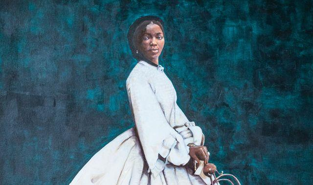 Portrait of Queen Victoria's African goddaughter displayed by English Heritage
