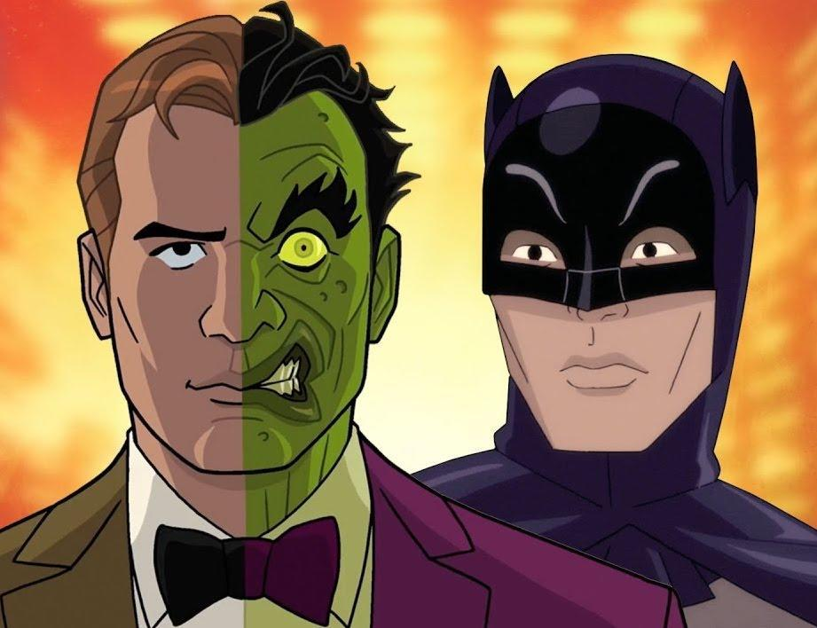 Upcoming animated film 'Batman vs Two-Face,' will feature the late Adam West's final performance in his signature role (credit: Warner Bros)