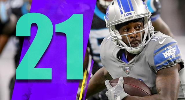 <p>Teams like the Broncos and Lions dealt away key players before the trading deadline, but they'll go into Thanksgiving still in the playoff race. (Bruce Ellington) </p>