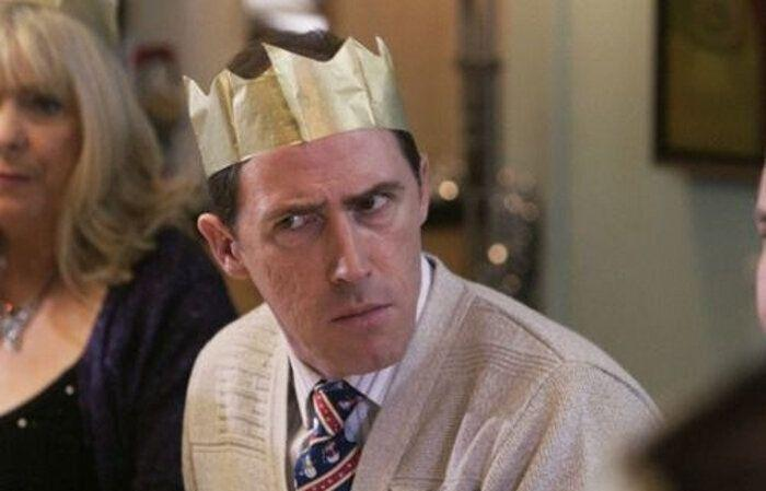 Rob Brydon as Bryn in the 2008 special Christmas episode of 'Gavin & Stacey'. (Credit: BBC)