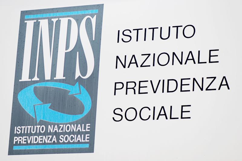 Borgosesia, Italy - August 10, 2011: Istituto Nazionale della Previdenza Sociale (INPS) sign. INPS is the main Italian social security institution.