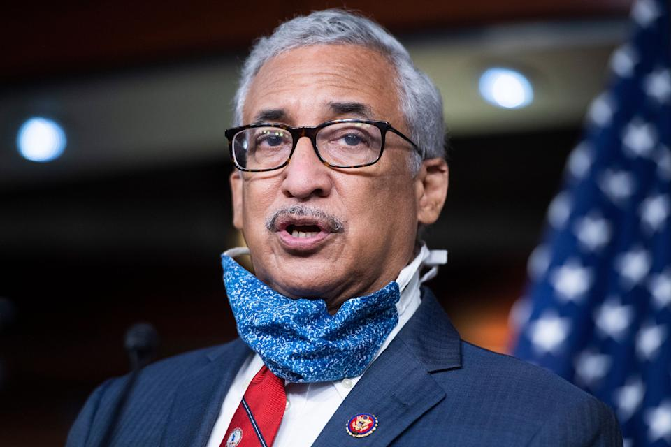 Rep. Bobby Scott (D-Va.) said Democrats would push the minimum wage increase as a measure on the House floor, while Sen. Bernie Sanders (I-Vt.) said senators would try to insert it into a COVID-19 relief bill. (Photo: Tom Williams via Getty Images)