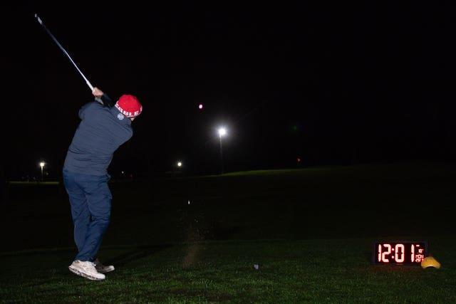Morley Hayes Golf centre in Ilkeston, Derbyshire was believed to be the first to reopen, with the first tee times at 0001