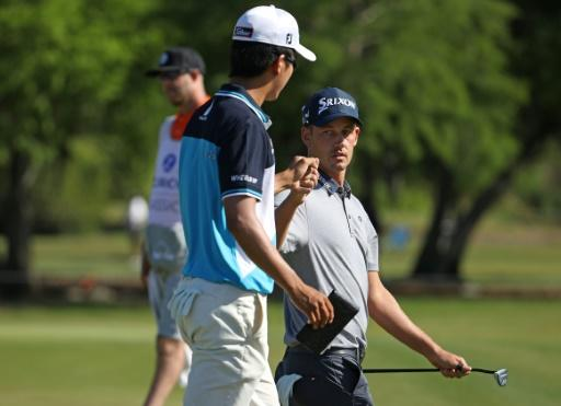 Andrew Putnam and Michael Kim made five birdies as they took their total to 13-under 131 and held a one-stroke lead over compatriots Kevin Kisner and Scott Brown after the foursomes second round of the Zurich Classic of New Orleans