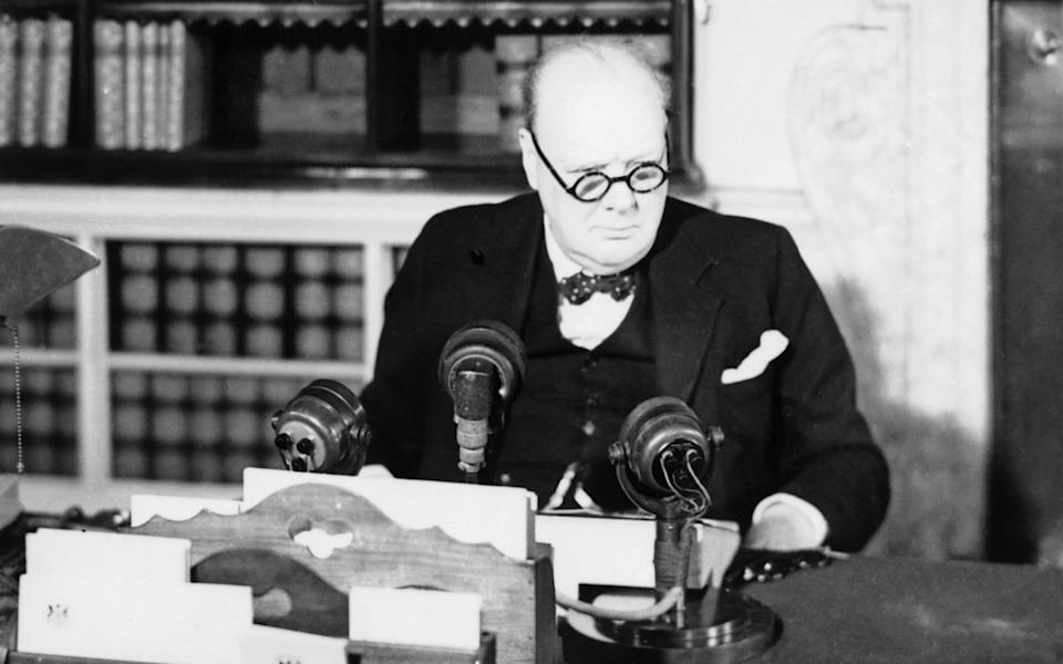 Winston Churchill VE Day - IWM/Getty Images