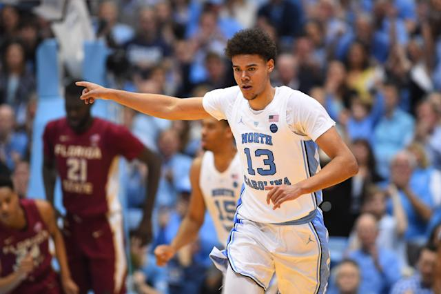 Not even Cameron Johnson, who wasn't in the building Thursday, seemed to think he was a lottery pick. (Reuters)