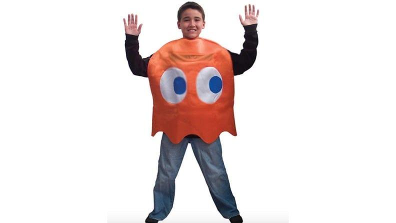 A Pac-Man costume will take you back to your youth.