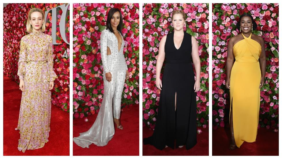 <p>Take a look at the hottest red carpet looks from Broadway's night of nights, the 71st Annual Tony Awards. </p>