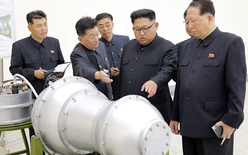 Kim Jong-un makes a weapons inspection in North Korea (AP)