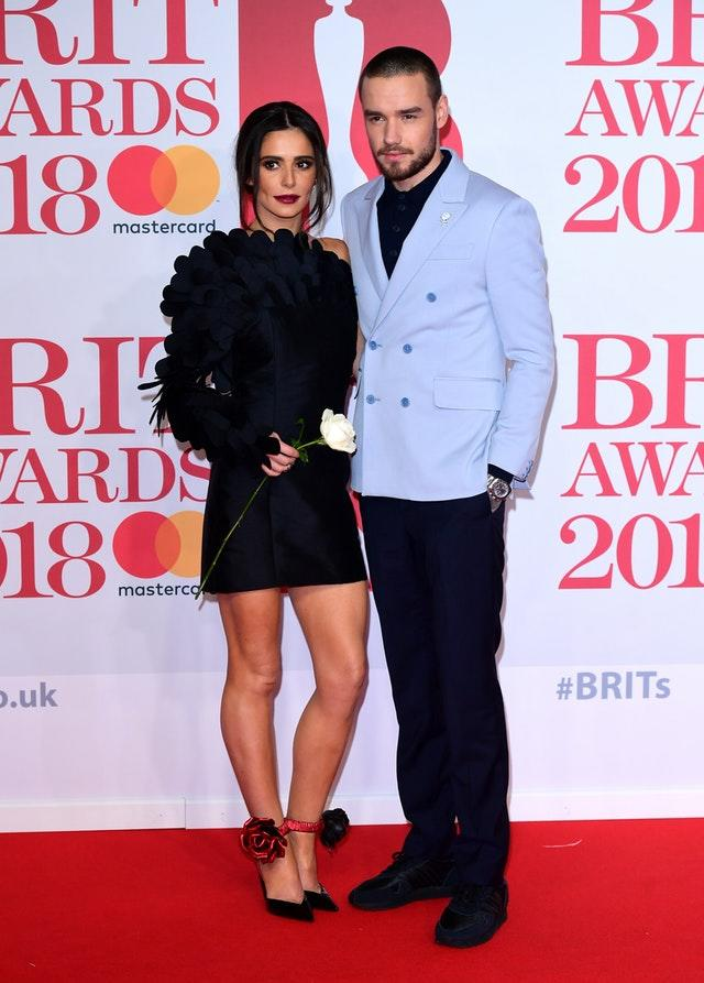 Cherly and Liam Payne