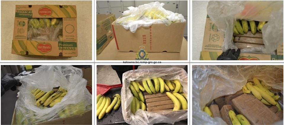 Grocers received cocaine in boxes of bananas