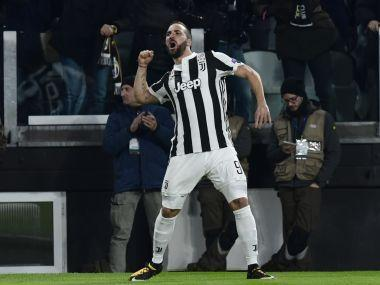 Higuain was substituted in the 15th minute of Sunday's Turin derby, which the defending champions won 1-0 thanks to a first-half goal from Alex Sandro.