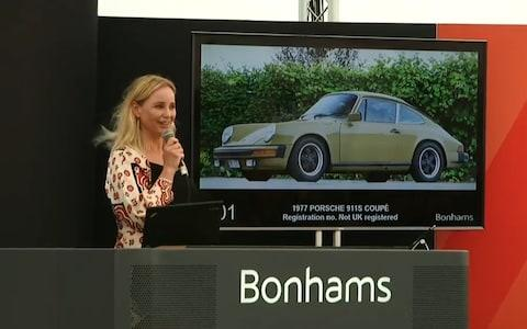 Sofia Saga Porsche The Bridge Bonhams - Credit: Bonhams
