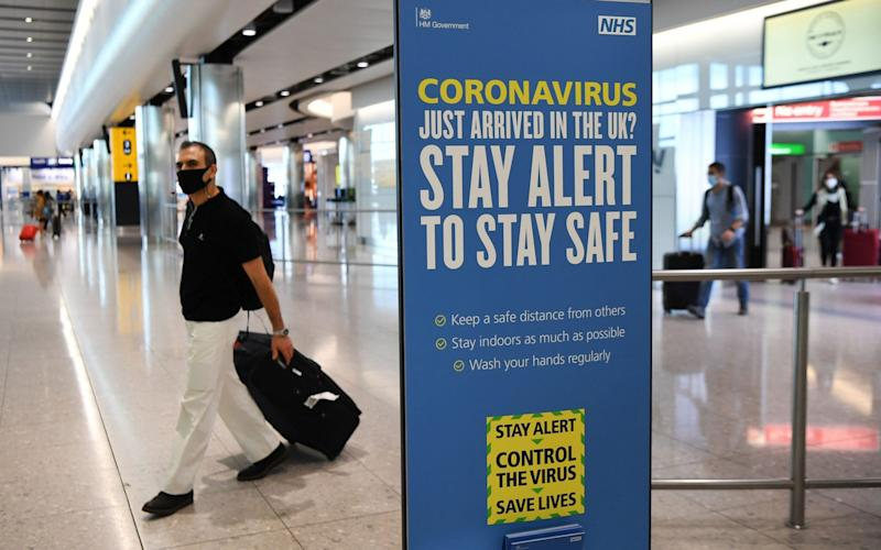 Rising cases in France have sparked concerns that it will be added to the quarantine list - EPA