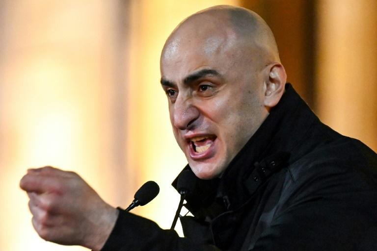 Nika Melia is accused of fomenting violence during protests that erupted in Tbilisi in June 2019