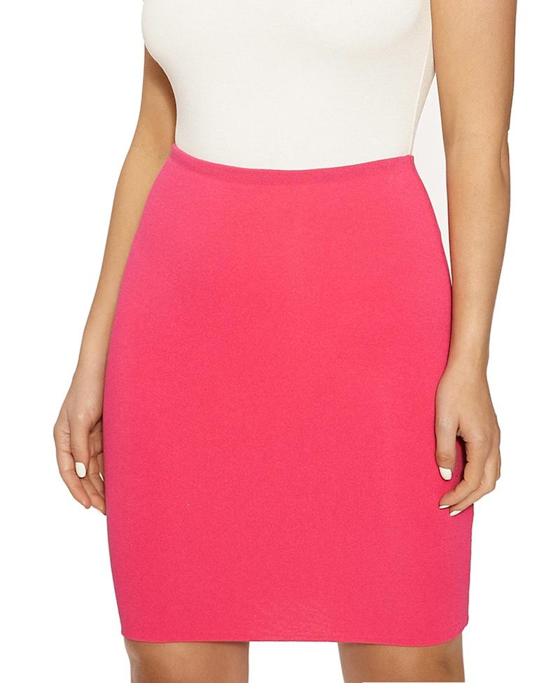 The NW Hourglass Mini Skirt. Image via Macy's.