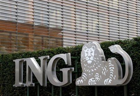 The logo of ING bank is seen at the entrance of the group's office in Brussels, Belgium, October 3, 2016. REUTERS/Francois Lenoir/File Photo
