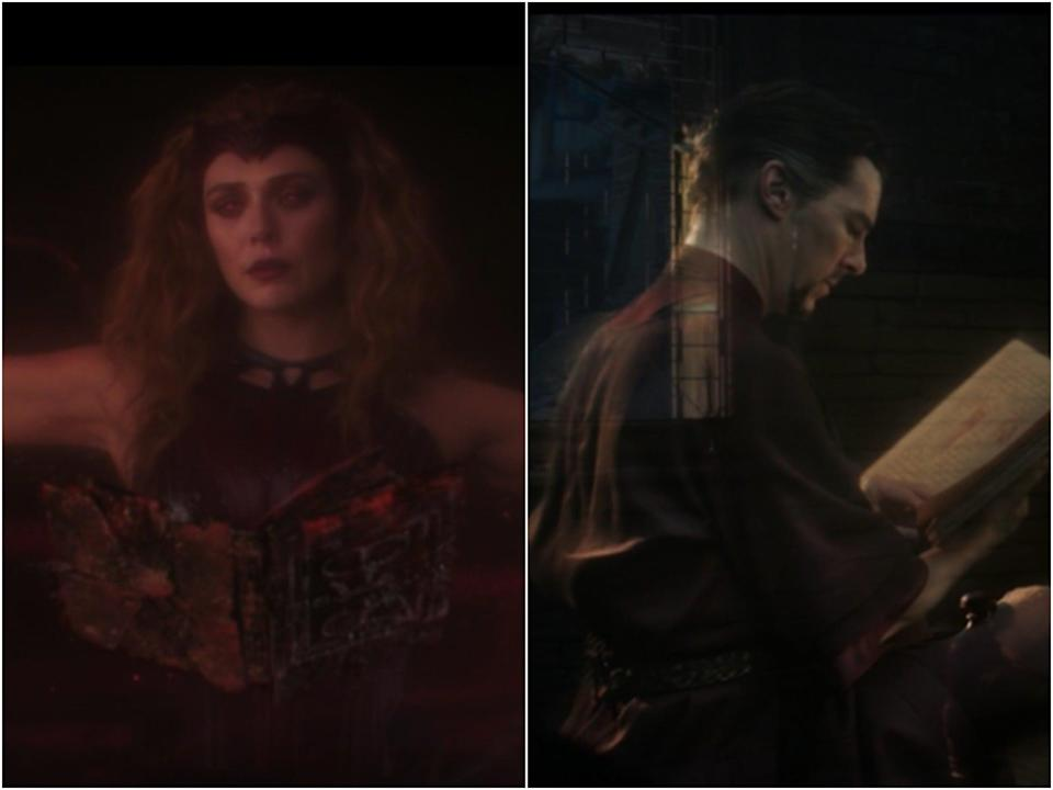 The Scarlet Witch and Doctor Strange are both able to astra project – but with some key differencesDisney Plus