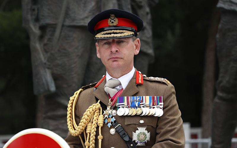 General Sir Mark Carleton-Smith, the head of the British Army. - Arif Hudaverdi Yaman/Getty Images Contributor