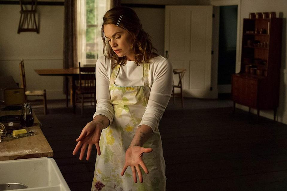 <p>Every house has a history, and few of those histories are more chilling than the origin story behind the 19th-century home serving as the sole setting for director Osgood Perkins's superbly creepy second feature. Already dead as the movie begins, in-home nurse Lily (Ruth Wilson) revisits the events that led to her demise, unearthing the secrets that exist in the walls of what's become her tomb. While <em>House</em>'s aesthetic precision and enigmatic storytelling make it more of a tone poem than a gonzo gorefest, once you've adjust to its wavelength it'll have you gazing nervously into every dark corner of your own home. (Available on Netflix.) — <em>E.A.</em> (Photo: Albert Camicoli, Netflix/courtesy Everett Collection) </p>