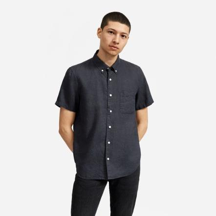 The Linen Short-Sleeve Standard Fit Shirt ('Multiple' Murder Victims Found in Calif. Home / 'Multiple' Murder Victims Found in Calif. Home)