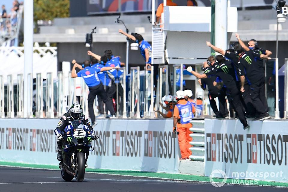 "GP de Emilia Romagna: Maverick Viñales, Yamaha Factory Racing<span class=""copyright"">Gold and Goose / Motorsport Images</span>"