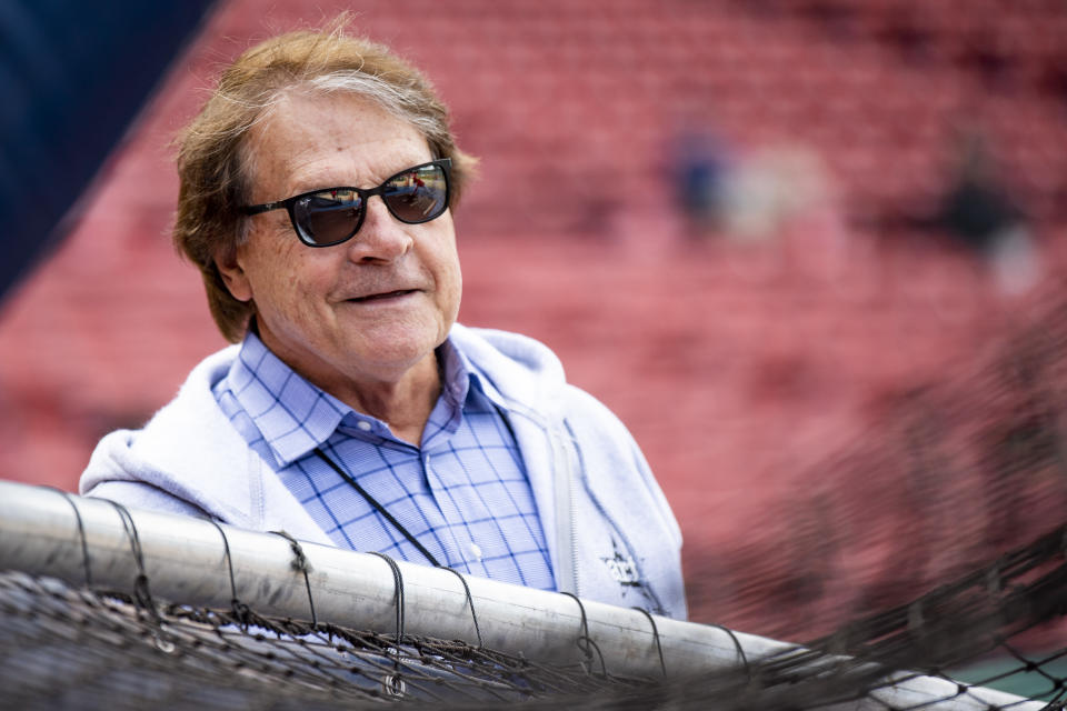 Tony La Russa at the ballpark.