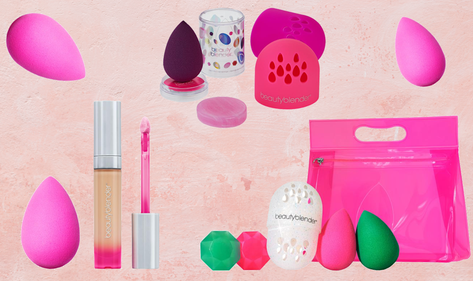 Meet the Beauty Blender family, your new facial suport group. (Photo: HSN)
