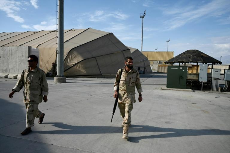 Washington and its allies are due to end their mission in Afghanistan at the end of next month, even as the insurgents say they now control 85 percent of the country