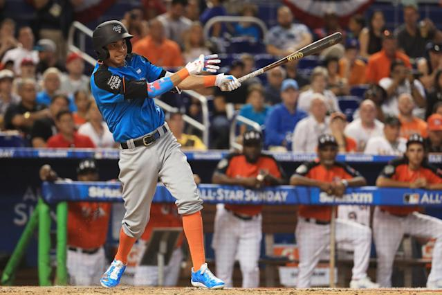Brewers prospect Mauricio Dubon left his home in Honduras at the age of 15 for the United States. (Getty Images)