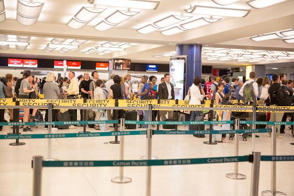 Airport security ramped up in the wake of 9/11 (Getty Images)