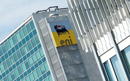 FILE PHOTO: Italian energy company Eni headquarters is seen in Rome