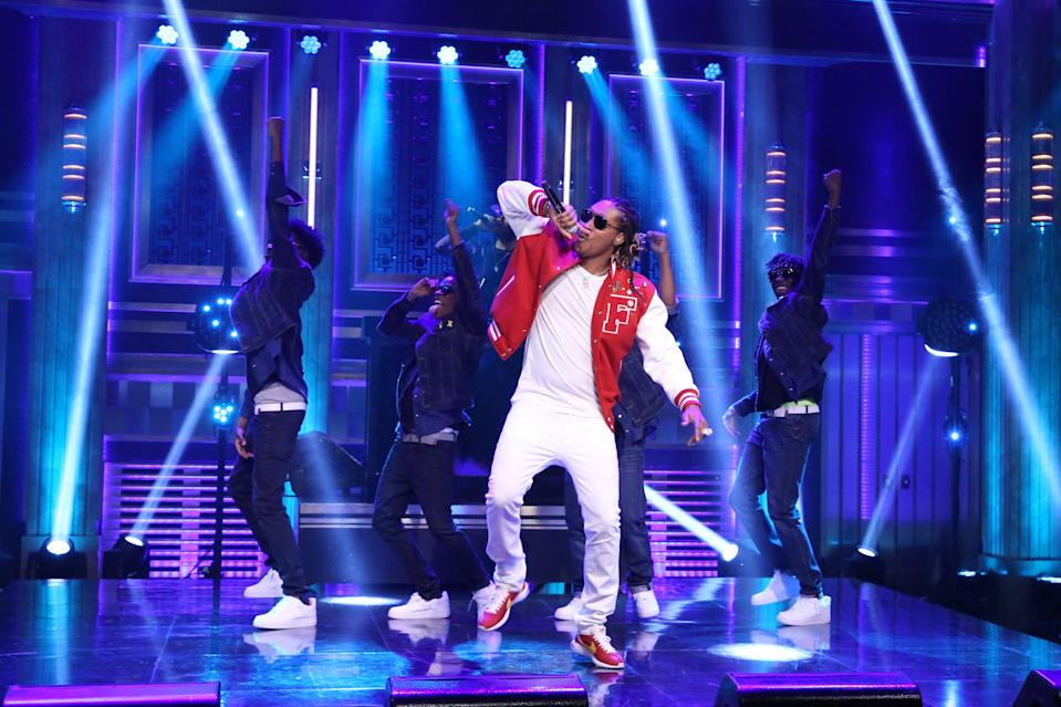 Future performs on April 14, 2016. (Photo by: Andrew Lipovsky/NBC/NBCU Photo Bank)