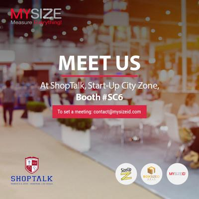 My Size will be located at booth SC6, demonstrating its MySizeID™ smart mobile measurement solutions
