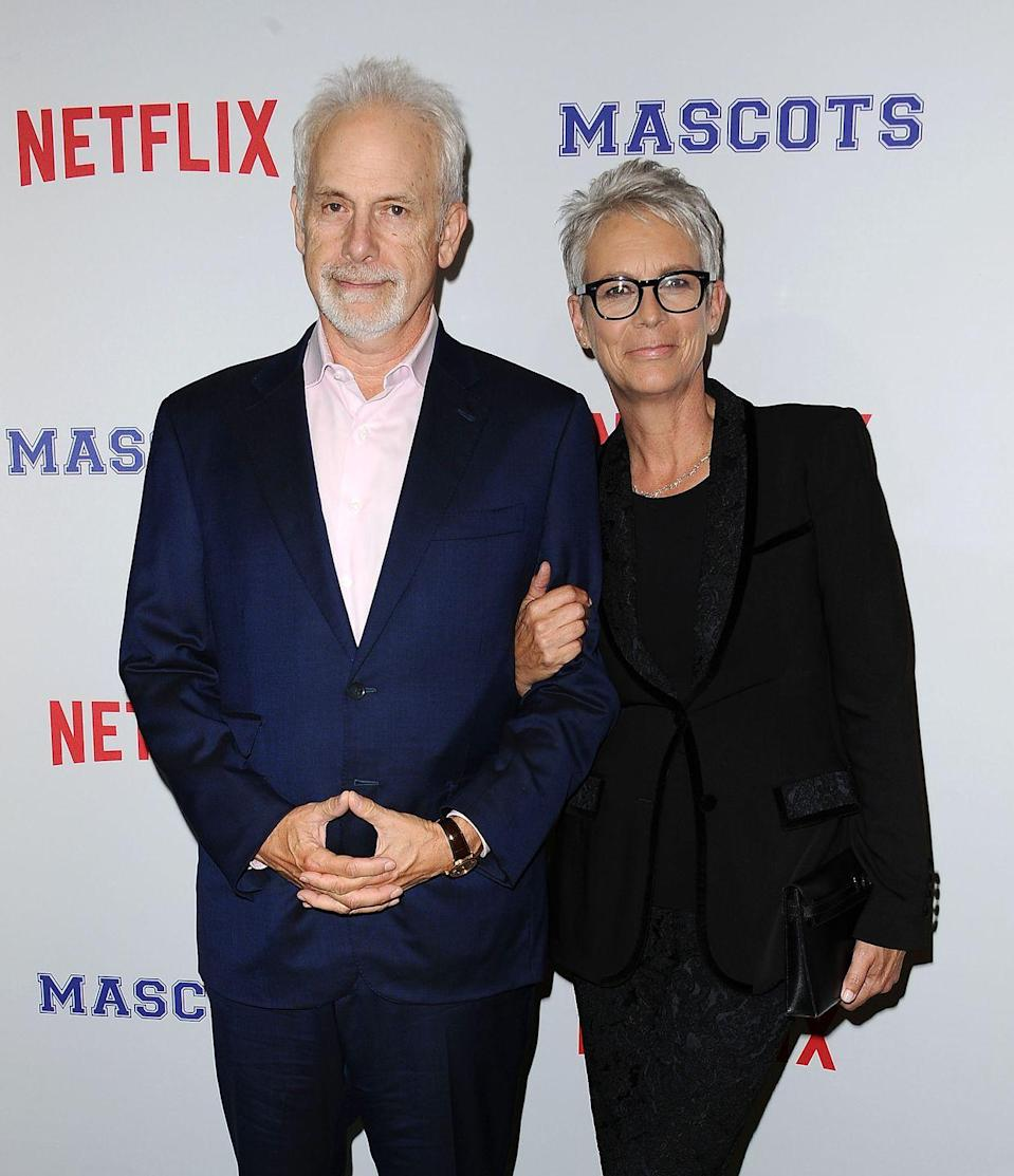 <p><strong>How long they've been together: </strong>Curtis and her husband of more than 30 years, Guest, have enjoyed a marriage that defies the celebrity divorce rate. </p><p><strong>Why you forgot they're <strong>together</strong>: </strong>The couple, who were engaged only two months after their first date (they met through Hollywood connections), married in 1984 and have chosen to lead a private life. </p>