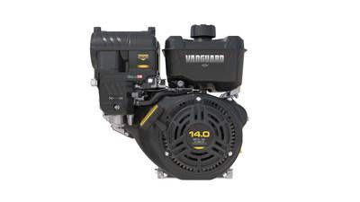 The new Vanguard 14.0 gross hp 400 and 5.0 gross hp 160, the second and third offerings in the new single-cylinder, horizontal shaft family of commercial engines are built from the ground up with voice of the customer research.