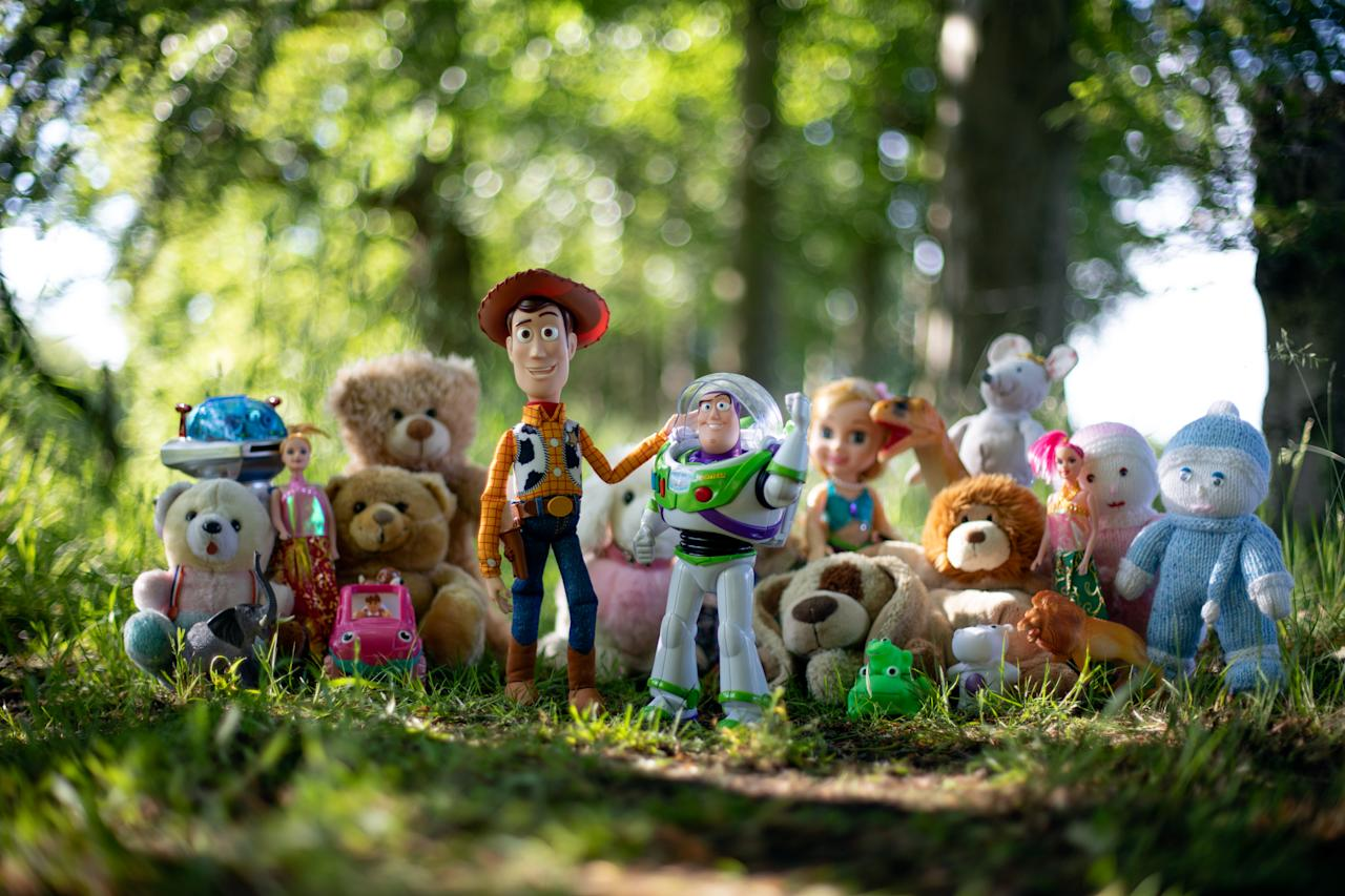 Working with Disney UK, the UK's largest coach operator has released a series of photographs depicting the adventures of these lost toys with the ultimate aim of reuniting the toys with their young owners.