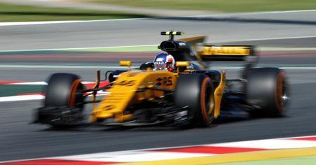 Formula One - F1 - Spanish Grand Prix - Barcelona-Catalunya racetrack, Montmelo Spain - 12/05/17 - Renault's Sergey Sirotkin in action during the first free practice. REUTERS/Albert Gea