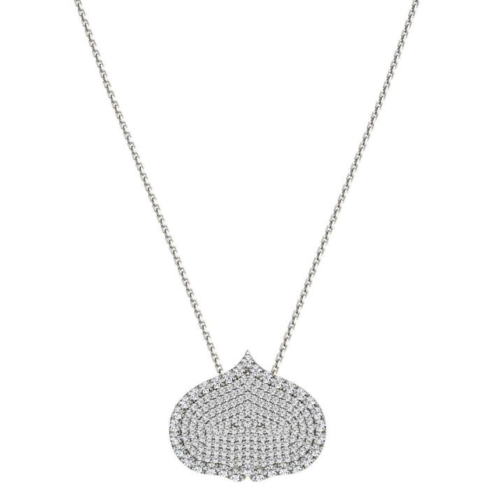 """<p><strong>Kamal </strong></p><p>onkamal.com</p><p><strong>$5750.00</strong></p><p><a href=""""https://onkamal.com/products/eye-adore-necklace-25mm-large-18k-white-gold?pr_prod_strat=collection_fallback&pr_rec_pid=4827912142883&pr_ref_pid=6552174493731&pr_seq=uniform"""" rel=""""nofollow noopener"""" target=""""_blank"""" data-ylk=""""slk:Shop Now"""" class=""""link rapid-noclick-resp"""">Shop Now</a></p><p>Help her keep her chakras in alignment with this diamond safeguard necklace. </p>"""
