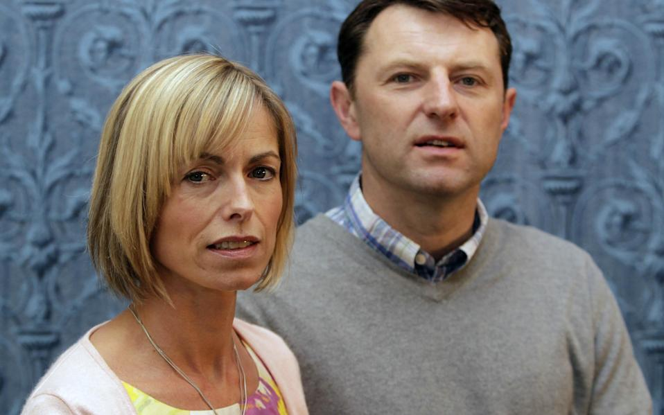 """File photo dated 13/05/11 of Kate and Gerry McCann who on Tuesday marked nine years since their daughter Madeline vanished, saying in a statement on their website that """"information is still forthcoming"""" in the inquiry. - Credit: Niall Carson/PA"""