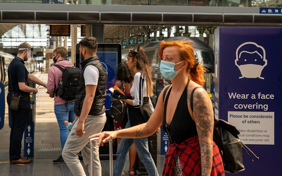 Coronavirus has triggered a rise in health anxiety, a new study has found, after lockdown and global uncertainty has significantly impacted mental health. - Ian Hodgson/Bloomberg