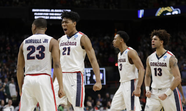 Gonzaga could again be the best team in the West this season. (AP)