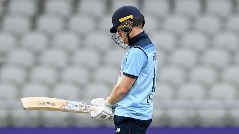Morgan laments sloppy start to England's innings in Australia defeat but hails Billings
