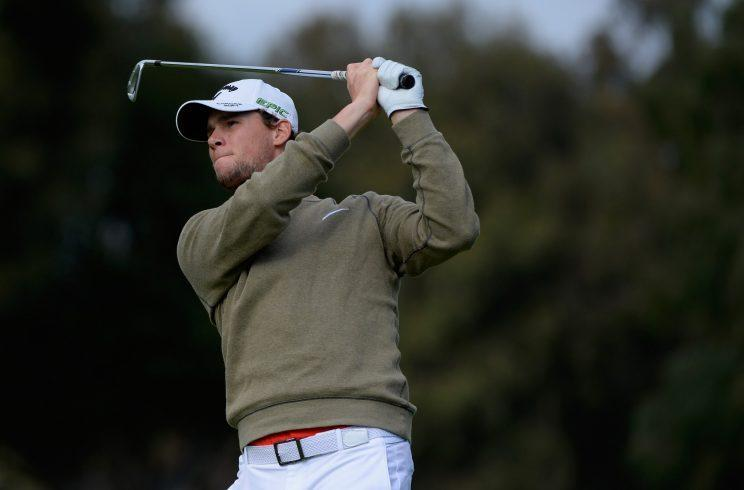 Thomas Pieters had a great week in L.A., except for one moment. (Getty Images)