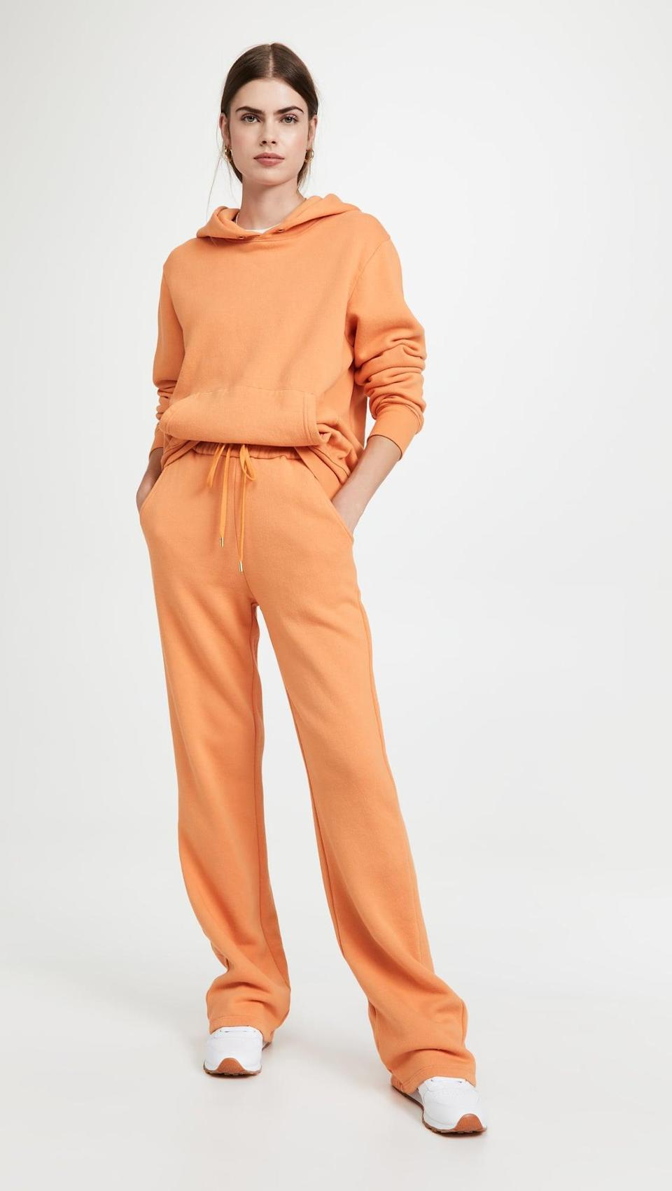 <p>Take sweatpants to another level with the <span>A.L.C. Cole Pants</span> ($195). The vibrant shade will surely turn some heads.</p>