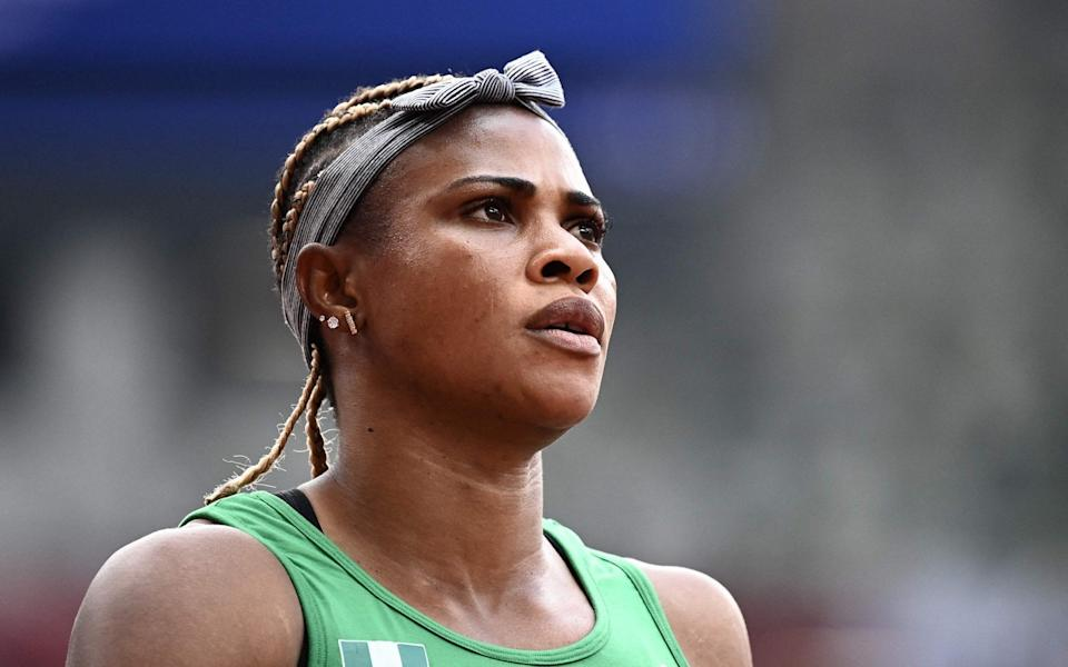 Blessing Okagbare - Dina Asher-Smith rival, Blessing Okagbare, provisionally suspended for use of human growth hormone - GETTY IMAGES