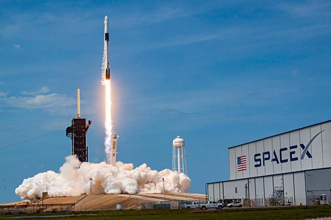 A SpaceX Falcon 9 rocket blasts off May 30 from the Kennedy Space Center carrying two NASA astronauts on a test flight to the International Space Station. The first operational flight of a Crew Dragon, this one carrying four astronauts, is targeted for launch Nov. 14. / Credit: SpaceX